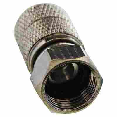 F-Aufdrehstecker Ø 6,5 - 7 mm