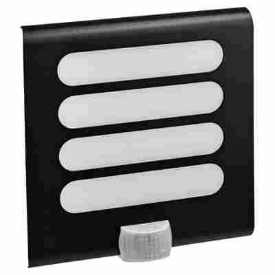 Sensor-LED-Außenleuchte L224 anthrazit 7,5 W 24,6 x 25,1 x 8,4 cm