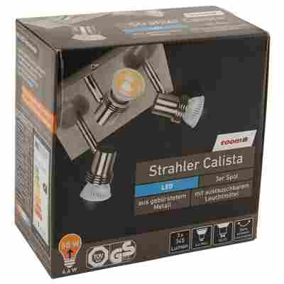 LED-Strahler Calista mit 3 Spots