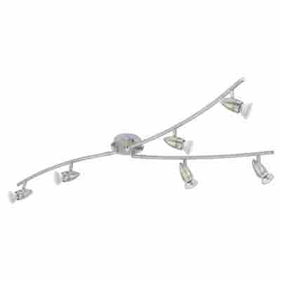 Eglo LED-Strahler 'Magnum LED' nickel 6-flammig