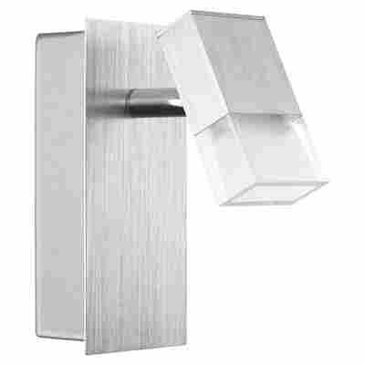 Eglo LED-Strahler 'Gemini' aluminium 1-flammig