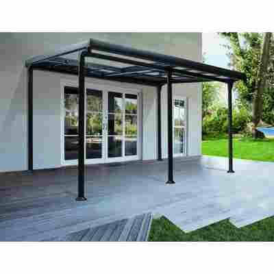 Pavillon 'Diana' schwarz 400 x 300 x 267 cm