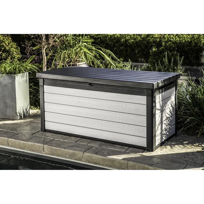Aufbewahrungsbox Denali Anthrazit Grau 151 5 X 73 X 72 5 Cm