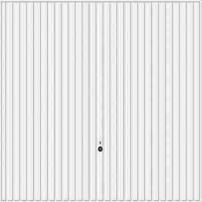 Schwingtor 'N80 902' weiß 250 x 212,5 cm