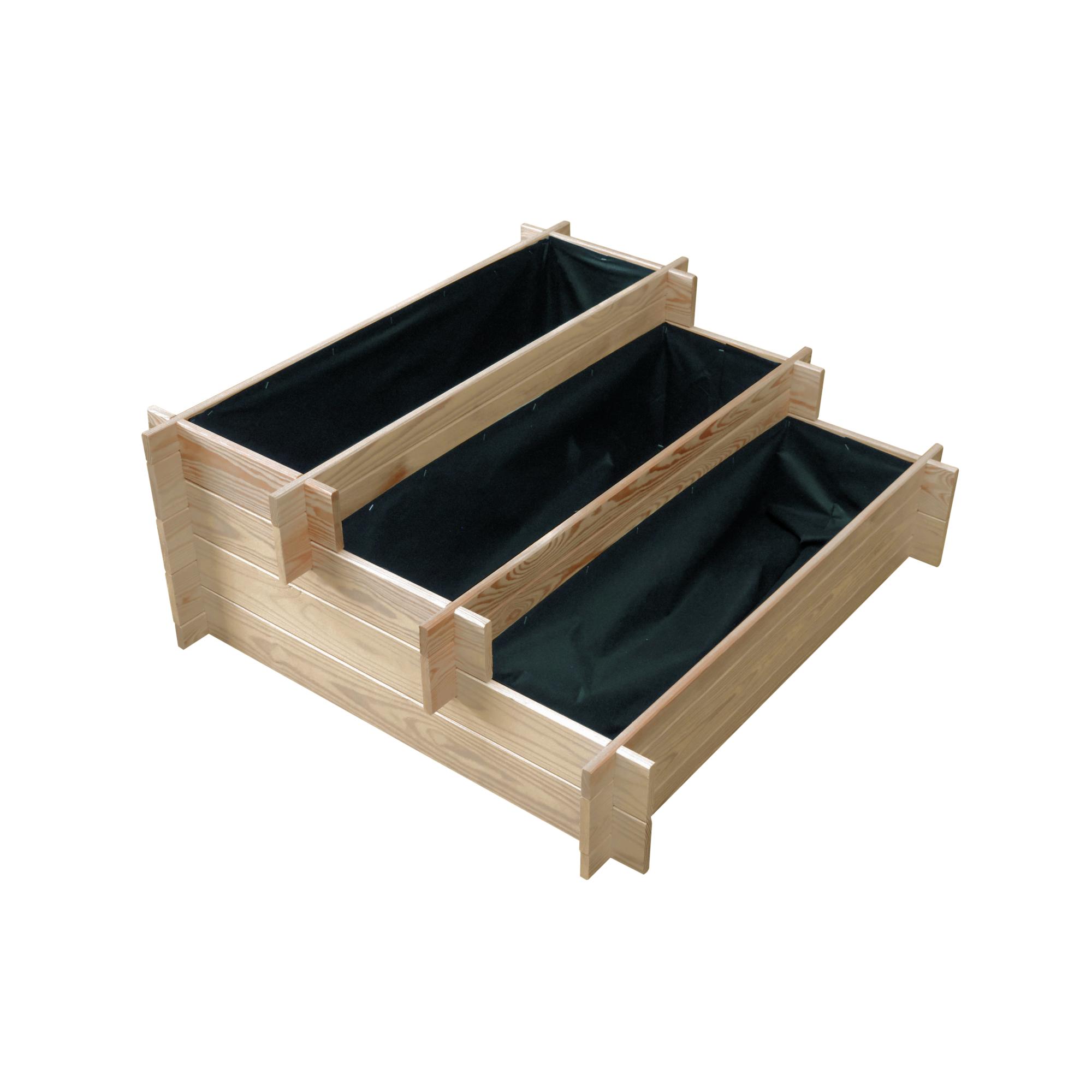 Holzbeet Linda 120 X 80 Cm Natur ǀ Toom Baumarkt