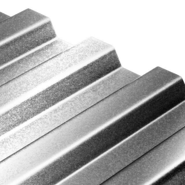 Well Pvc Trapez Graumetallic 90 X 200cm ǀ Toom Baumarkt