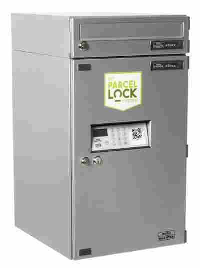 "Briefkasten ""EBoxx ParcelLock"" EA 634 silber"