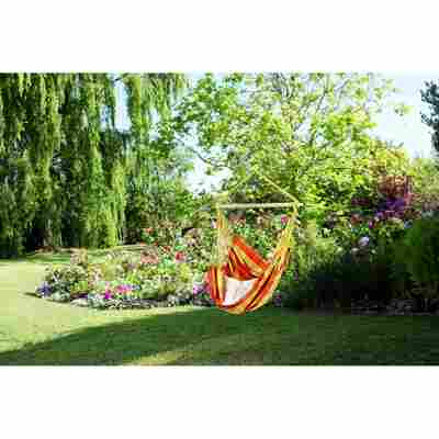 Hängesessel 'Relax Orange' gelb/orange 130 x 100 cm