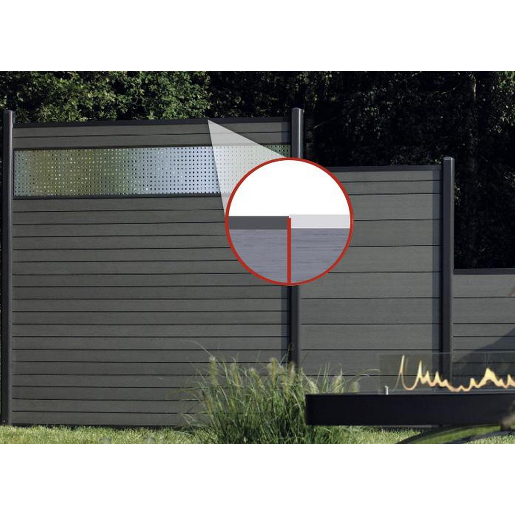 Zaunserie System Wpc Zaunpfosten ǀ Toom Baumarkt