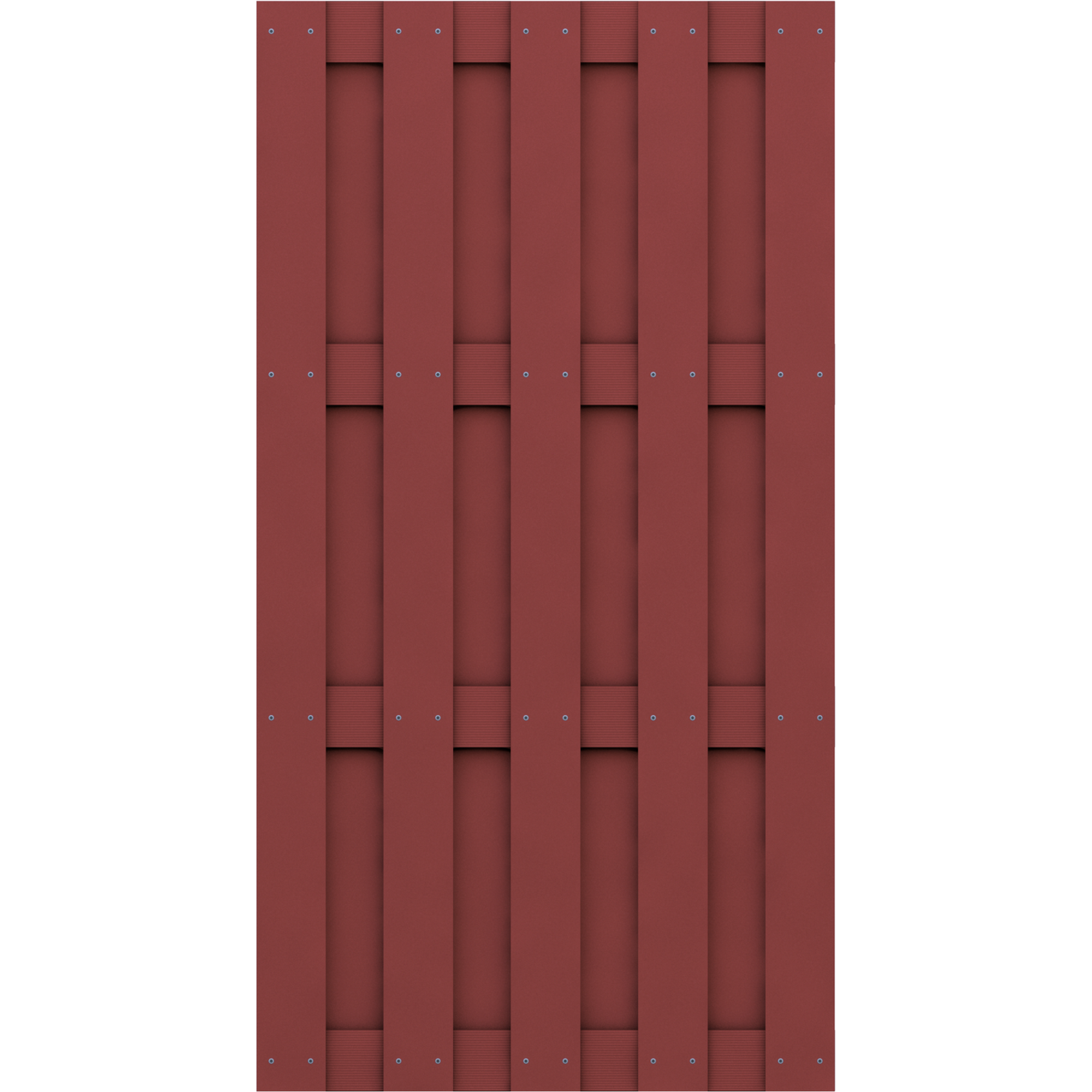 Zaunelement Jumbo Wpc Rotbraun ǀ Toom Baumarkt