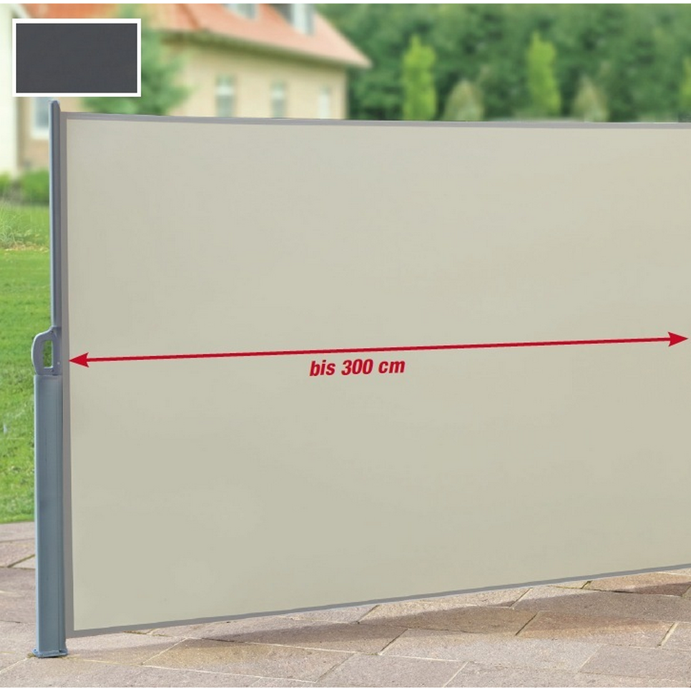 Doppel Seitenmarkise Beige 600 X 160 Cm ǀ Toom Baumarkt