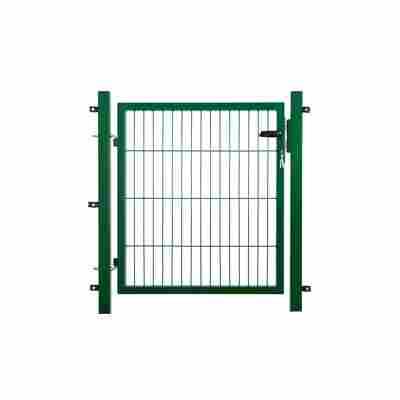 Gartentor grün, einflügelig 100 x 80 cm