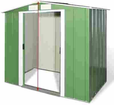 "Metallgerätehaus ""Eco 6 x 4"""