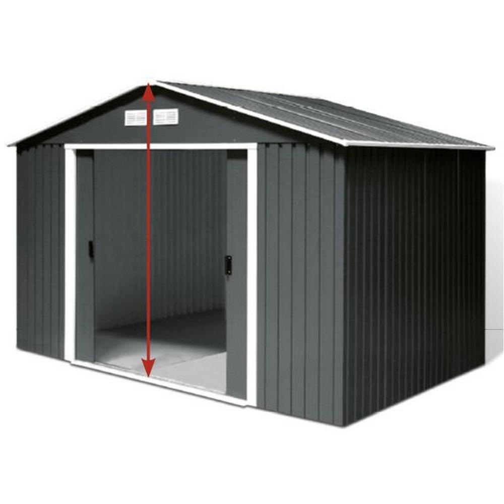 metallgerätehaus 'titan 8 x 6' ǀ toom baumarkt