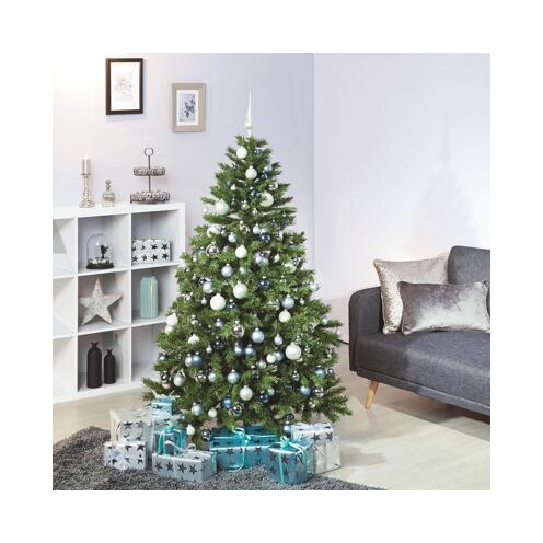 Künstlicher Weihnachtsbaum 150 Cm.Künstlicher Weihnachtsbaum Inkl Led Beleuchtung Und Metallständer