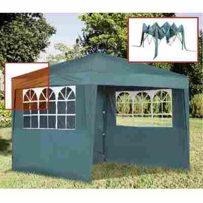 Faltpavillon grün 280 x 280 cm