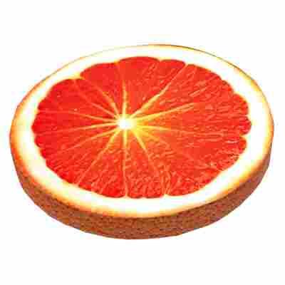 Sitzkissen 'Orange' orange/gelb Ø 40 cm
