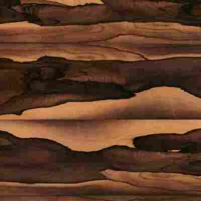 Arbeitsplatte 410 x 60 x 3,9 cm palisander brasilia dunkel