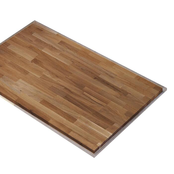 Massivholz Arbeitsplatte 2400 X 600 X 26mm ǀ Toom Baumarkt