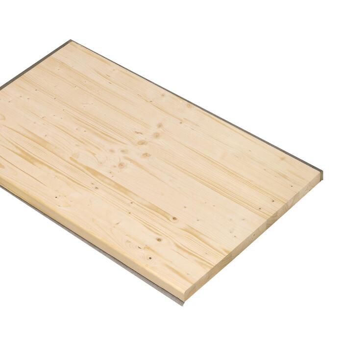 Massivholz Arbeitsplatte 2000 X 600 X 40mm ǀ Toom Baumarkt