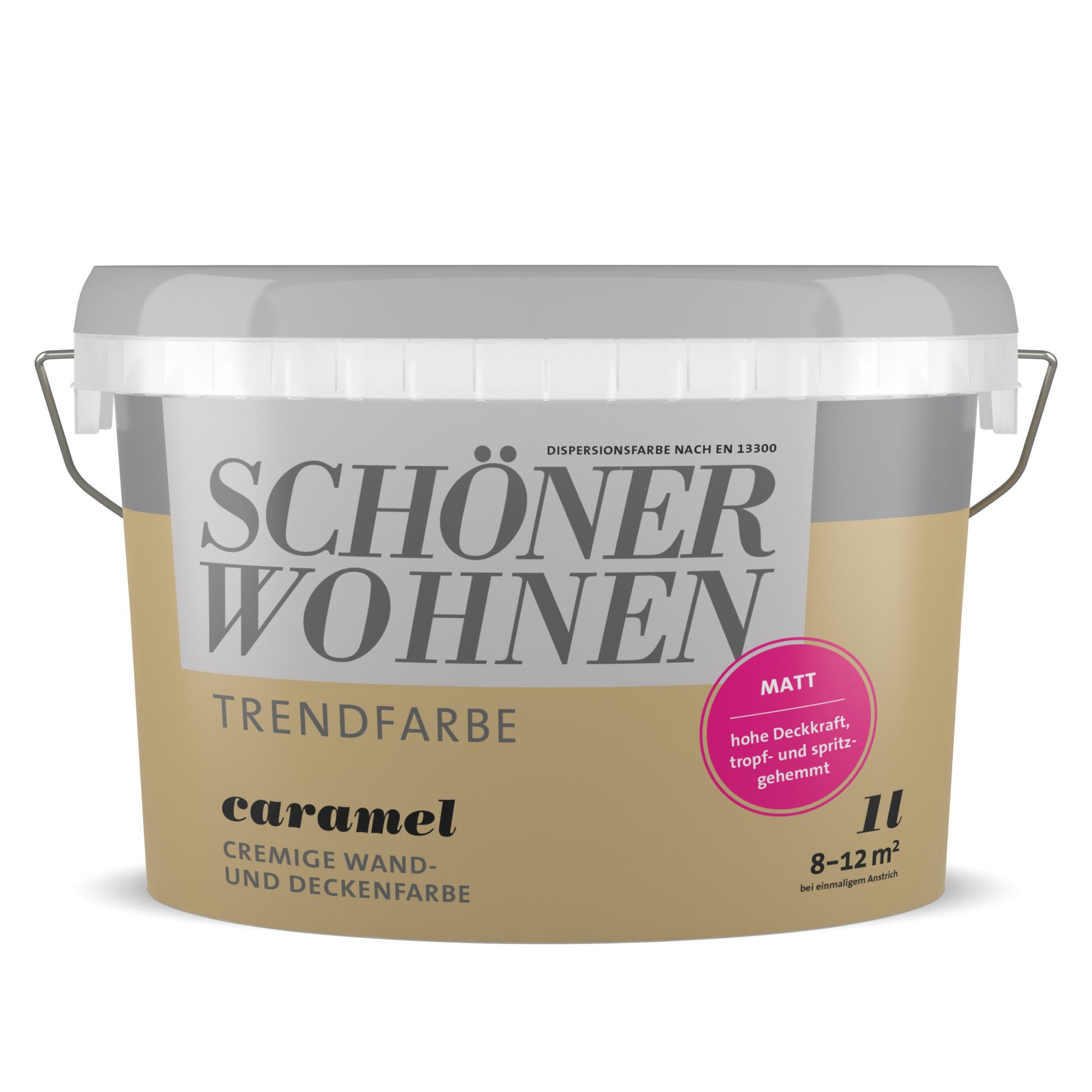 SchÖner Wohnen Farbe Wand Und Deckenfarbe Architects: Schöner Wohnen Wand- Und Deckenfarbe Trendfarbe 'Caramel