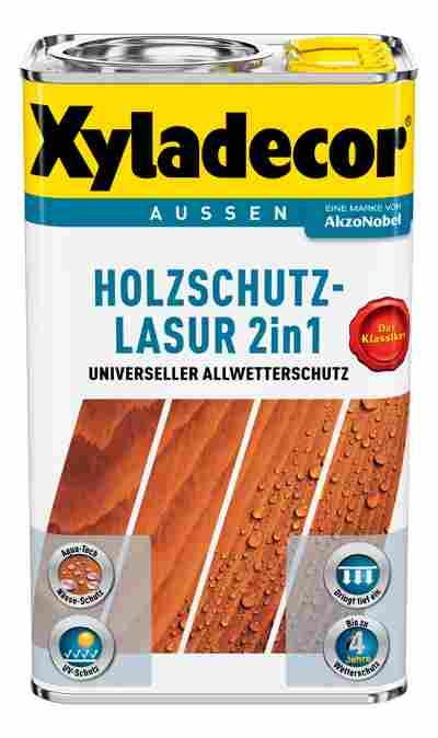 2in1 Holzschutzlasurgrau 2,5L Xyla