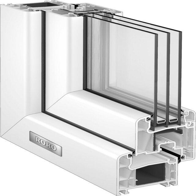 roro kunststofffenster wei 800 x 1000mm din r toom baumarkt. Black Bedroom Furniture Sets. Home Design Ideas