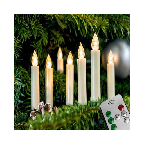 Weihnachtsbeleuchtung Innen Kerzen.Kabellose Kerzen Erweiterung Innen ǀ Toom Baumarkt