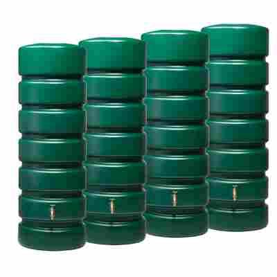Gartentank-Set 'Classico' grün 2600 l, 2 Stück