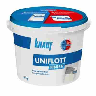Feinspachtelmasse 'Uniflott Finish' weiß 8 kg