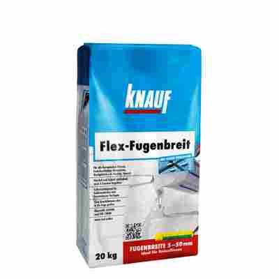 "Fugenmörtel ""Flex-Fugenbreit"" zementgrau 20 kg"