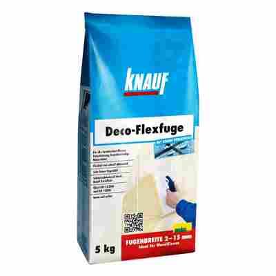 """Fugenmörtel """"Deco-Flexfuge"""" zementgrau 5 kg"""