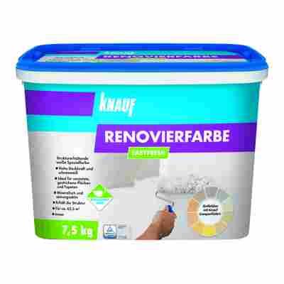 "Renovierfarbe ""Easyfresh"" schneeweiß 7,5 kg"