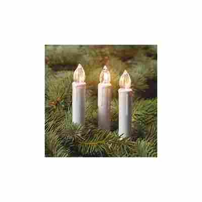 5 LED Kerzen rot Erweiterungsset